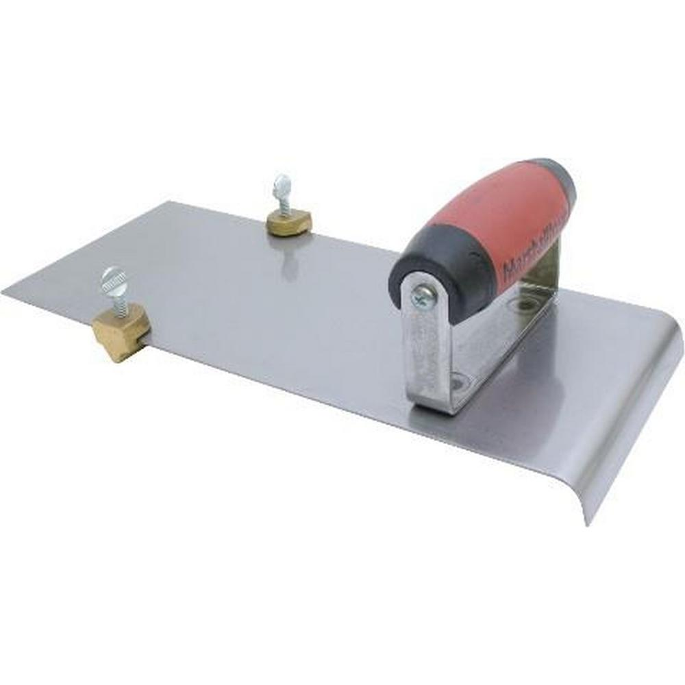6 in. x 1 in. Aluminum Groover Attachment