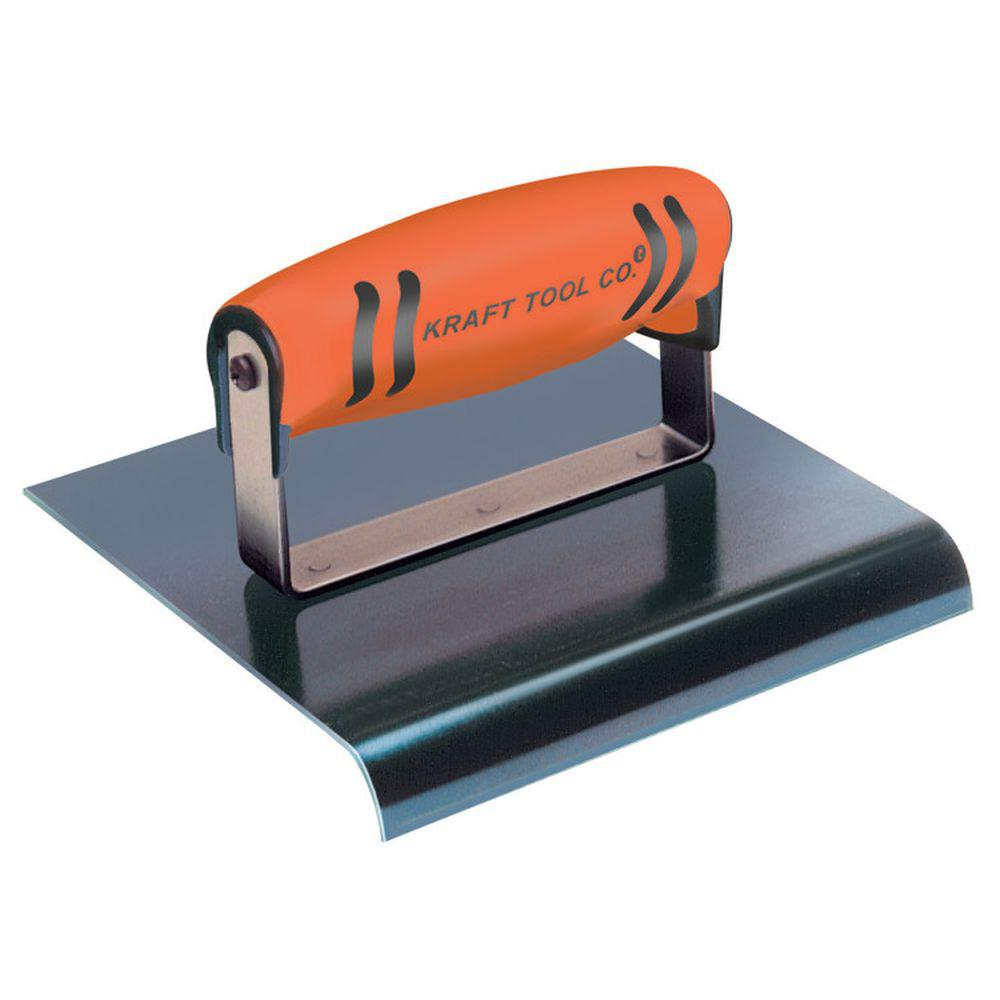 9 in. x 6 in. Blue Steel Hand Edger with Proform Handle