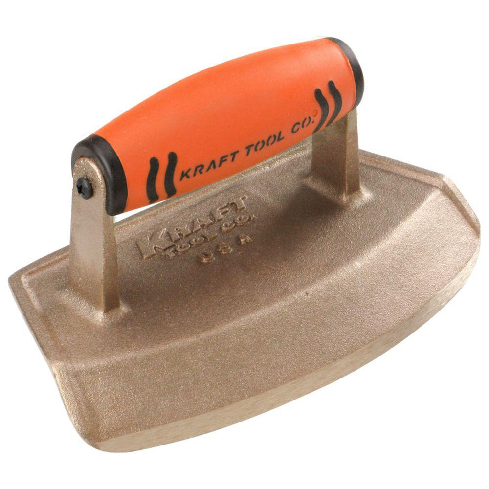 7 in. x 4 in. Bronze Hand Edger with ProForm Handle