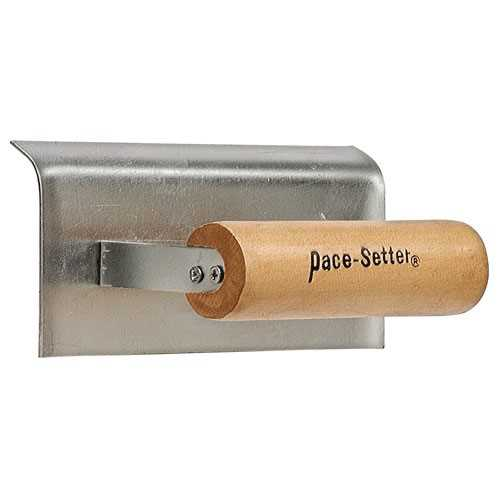 GOLDBLATT INDUSTRIES LLC Finishing Trowel, Wood Handle, 16 x 4-In.