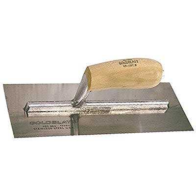 Goldblatt Industries G03454 11 x 4-1/2-Inch Flat Finishing Trowel